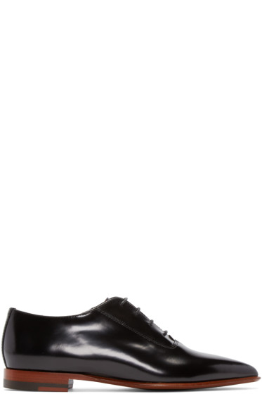 Acne Studios - Black Martha Oxfords