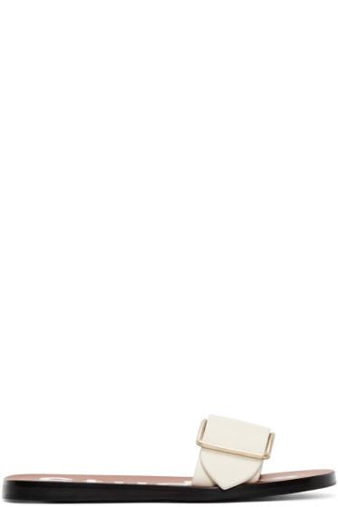 Acne Studios - Ecru Odet Sandals