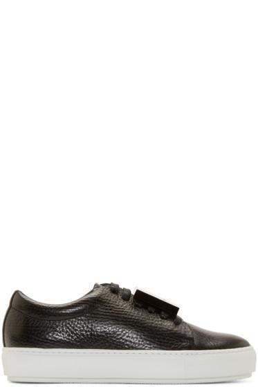 Acne Studios - Black Leather Adriana Sneakers