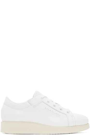 Acne Studios - White Leather Kobe Sneakers
