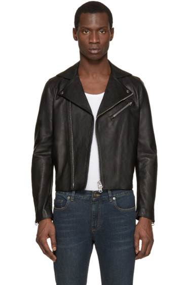 Acne Studios - Black Leather Gibson Jacket
