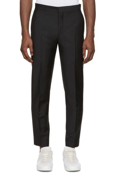 Acne Studios - Black Wool Phono Trousers