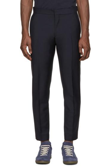 Acne Studios - Navy Wool Phono Trousers