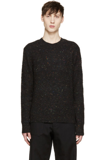 Acne Studios - Black Peele Donegal Sweater