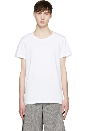 Acne Studios - White Standard Face T-Shirt