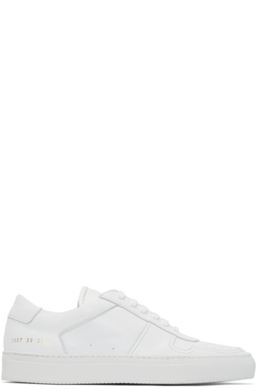 Common Projects - White Bball Sneakers
