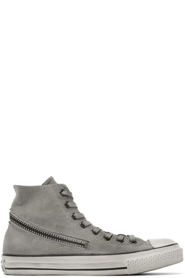 Converse by John Varvatos - Grey Tornado Zip High-Top Sneakers
