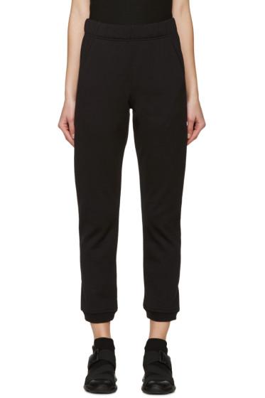 Y-3 - Black Elegant Lounge Pants
