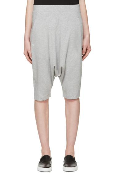 Y-3 - Grey Summer Shorts