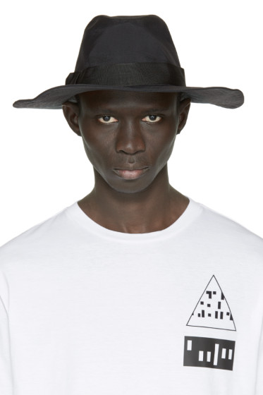 Y-3 - Black Nylon Fedora