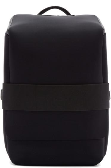 Y-3 - Black Neoprene Qasa S Backpack