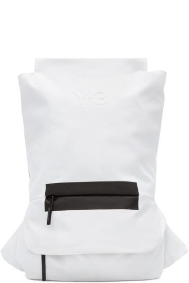 Y-3 - Black & White FS Backpack