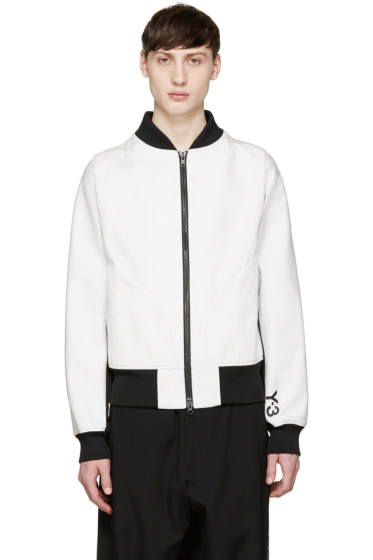 Y-3 - White Future Bomber Jacket