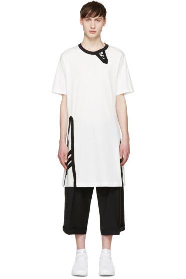 Y-3 - White Uni Zip T-Shirt