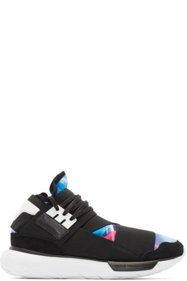 Y-3 - Black & Mulitcolor Qasa High Sneakers