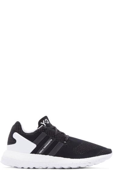 Y-3 - Black Primeknit Pure Boost ZG Sneakers