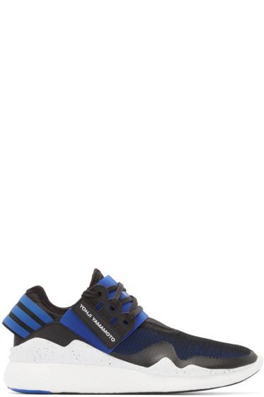 Y-3 - Blue & Black Retro Boost Sneakers