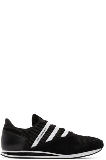Y-3 - Black & White Kyoshu Run Sneakers