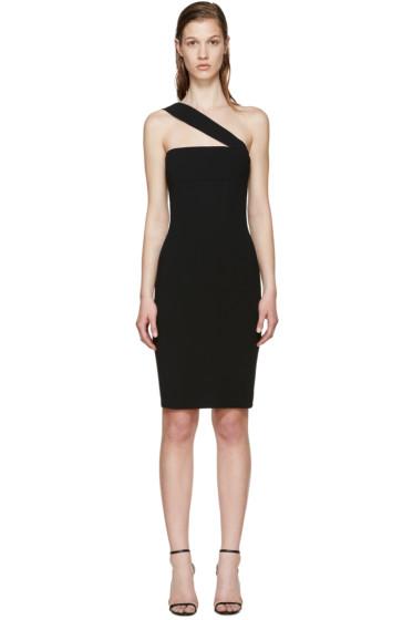 Dsquared2 - Black Crepe Single-Strap Dress