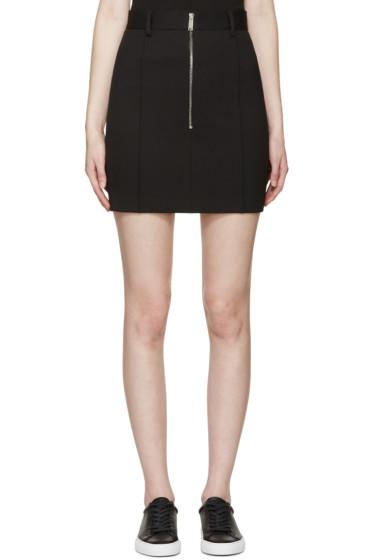Dsquared2 - Black Scuba Mini Skirt