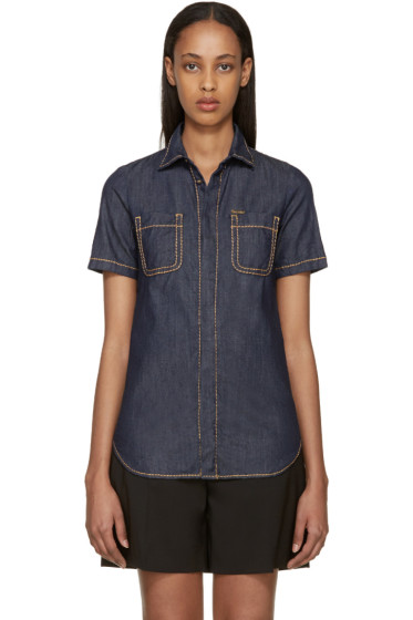 Dsquared2 - Indigo Denim Hula Shirt