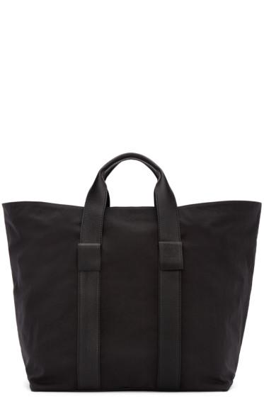 Dsquared2 - Black Leather & Nylon Tote