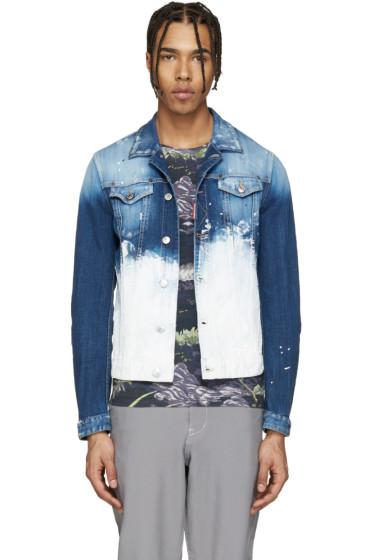 Dsquared2 - Blue Painted Denim Jacket