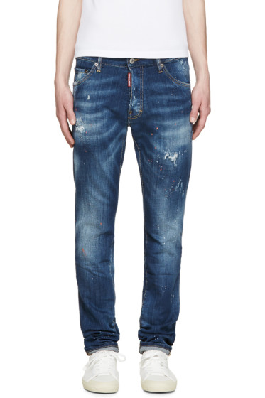 Dsquared2 - Blue Galaxy Cool Guy Jeans