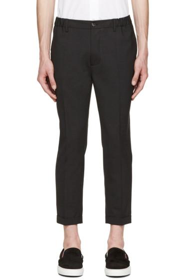 Dsquared2 - Grey Dan Elastic Waist Trousers