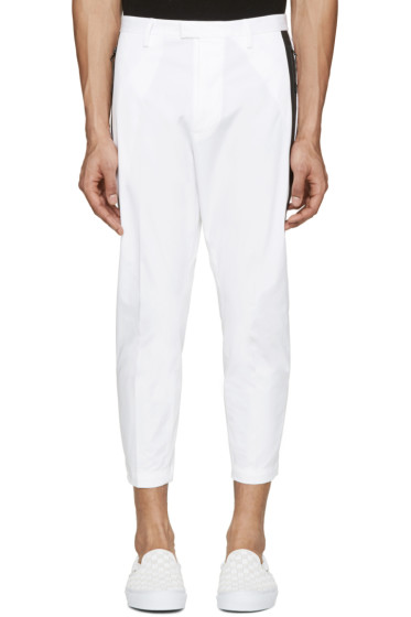 Dsquared2 - White Cotton Cropped Trousers