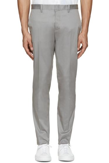 Dsquared2 - Grey Raw Hem Trousers