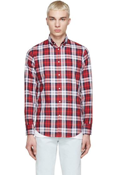 Dsquared2 - Tricolor Plaid Shirt
