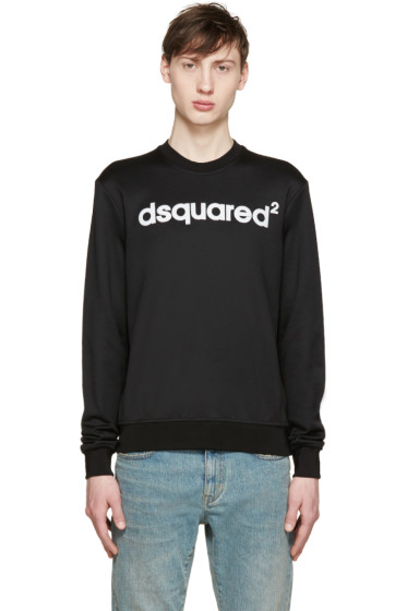 Dsquared2 - Black Logo Pullover