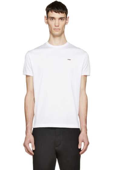 Dsquared2 - White Chic Fit Dan T-Shirt