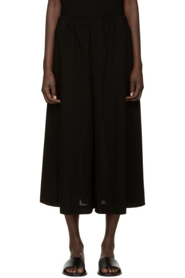 Helmut Lang - Black Wool Culottes