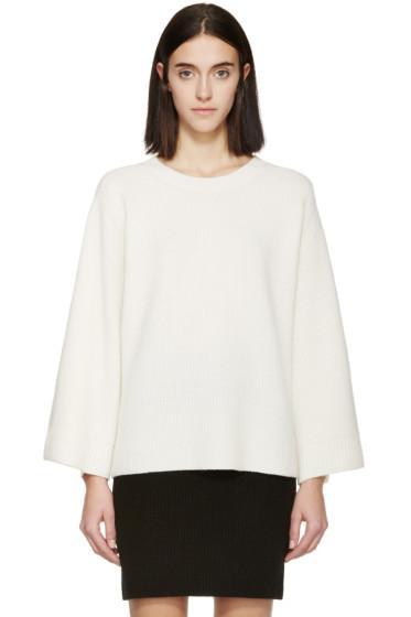 Helmut Lang - Cream Wool & Cashmere Sweater