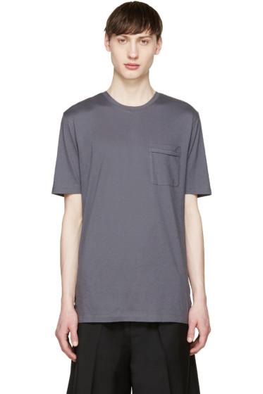 Helmut Lang - Grey Oversized T-Shirt