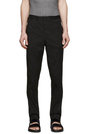 Christopher Kane - Black Hybrid Trousers
