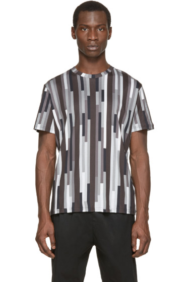 Christopher Kane - Grey Printed Bolster T-Shirt