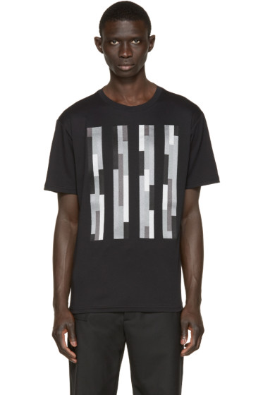 Christopher Kane - Black Embroidered Bolster T-Shirt