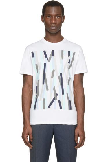 Christopher Kane - White Broken Bolster T-Shirt