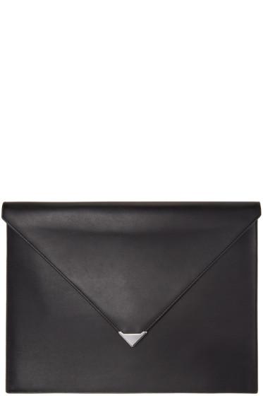 Alexander Wang - Black Prisma A4 Envelope Pouch