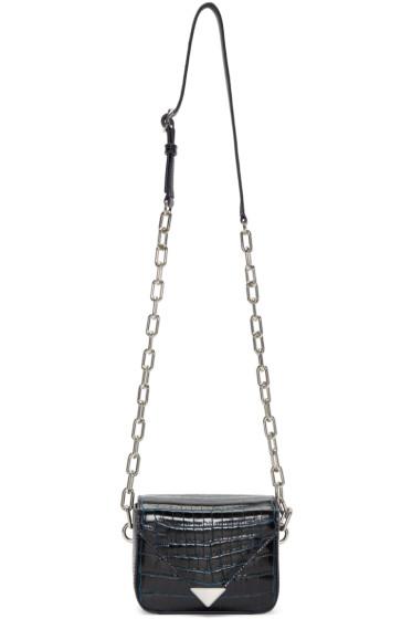 Alexander Wang - Navy Mini Prisma Envelope Sling Bag