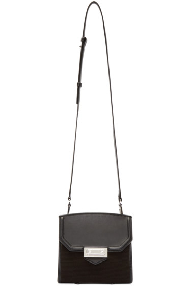 Alexander Wang - Black Canvas & Leather Marion Bag