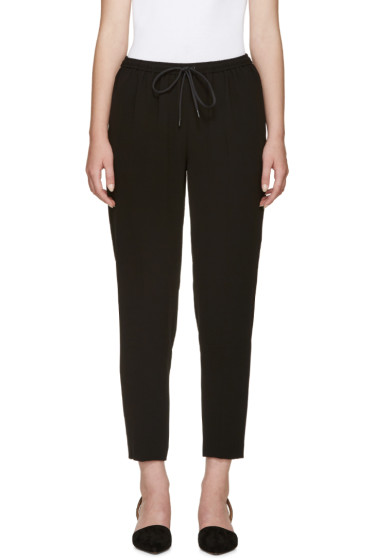 Alexander Wang - Black Tapered Lounge Pants