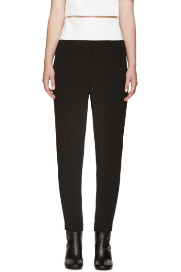 Alexander Wang - Black Tapered Trousers