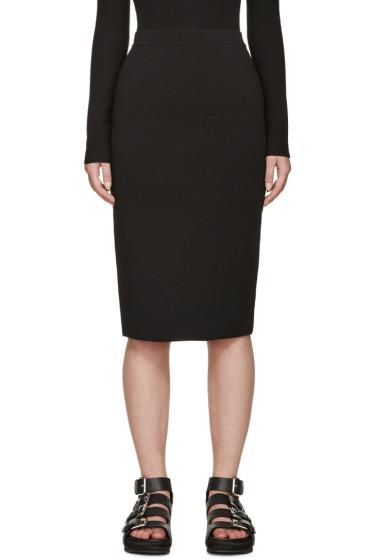 Alexander Wang - Black Knit Pencil Skirt