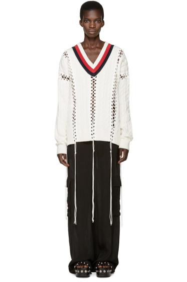Alexander Wang - Off-White Cricket Sweater