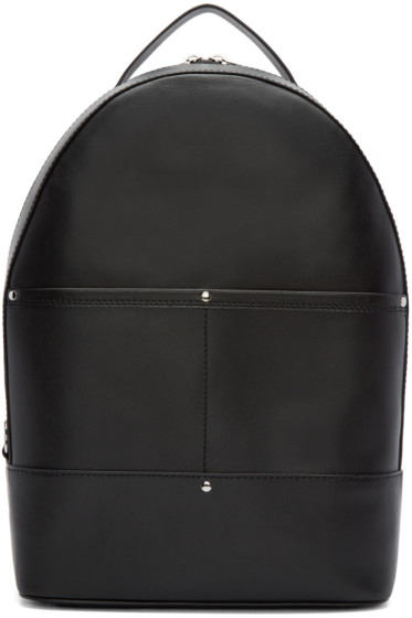 Alexander Wang - Black Leather Mason Backpack