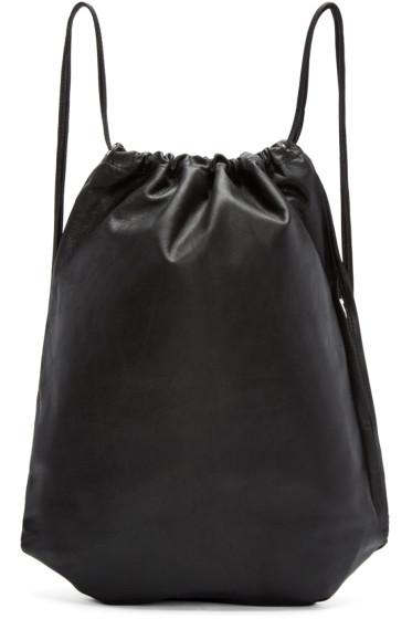Alexander Wang - Black Wallie Gymsack Backpack